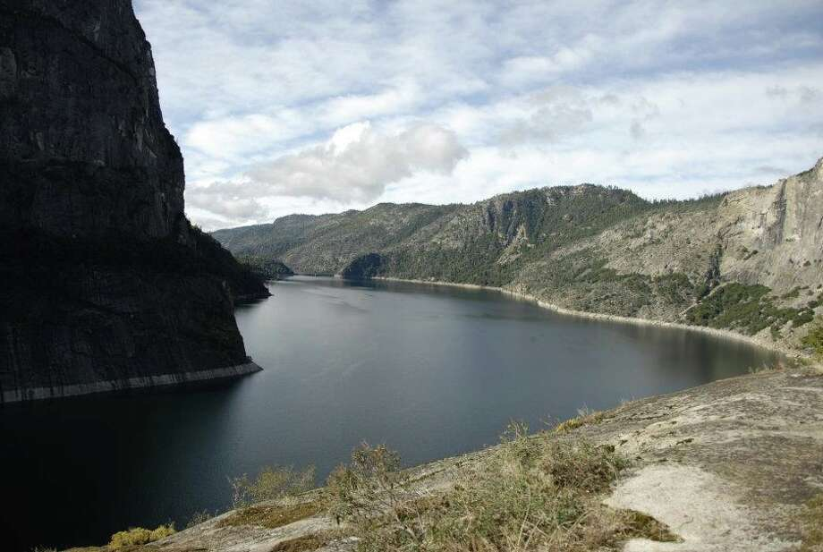 A timeless moment taking in Hetch Hetchy, with Kolana Rock on the left Photo: Courtesy Kari Cobb