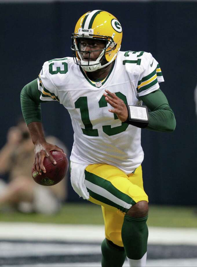 Former Packers quarterback Vince Young did not have the preseason needed to stick in Green Bay. Photo: Tom Gannam, FRE / FR45452 AP