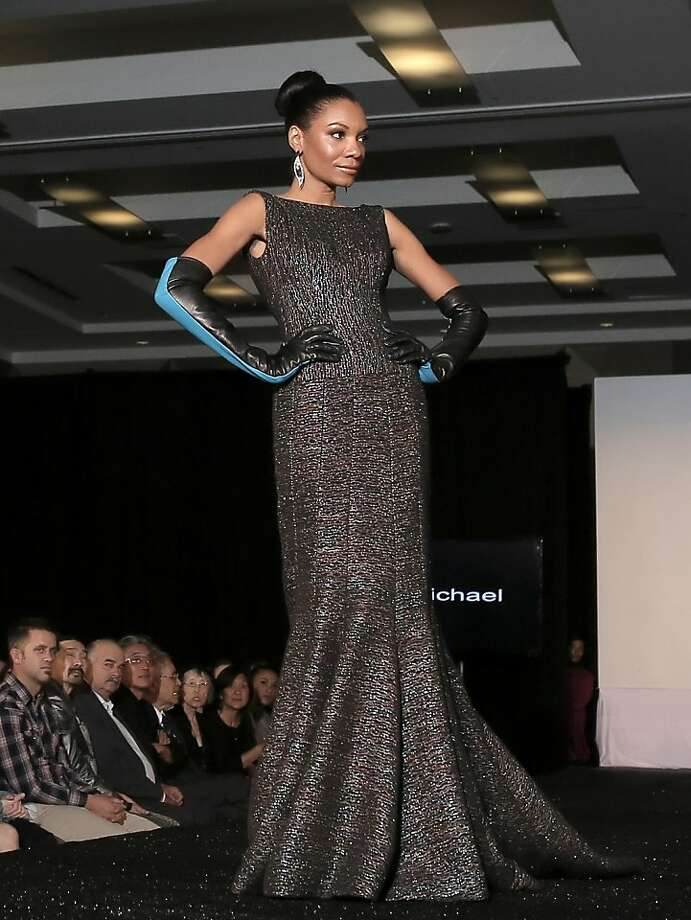 The show also included B Michael's couture evening wear. Photo: 510 Media