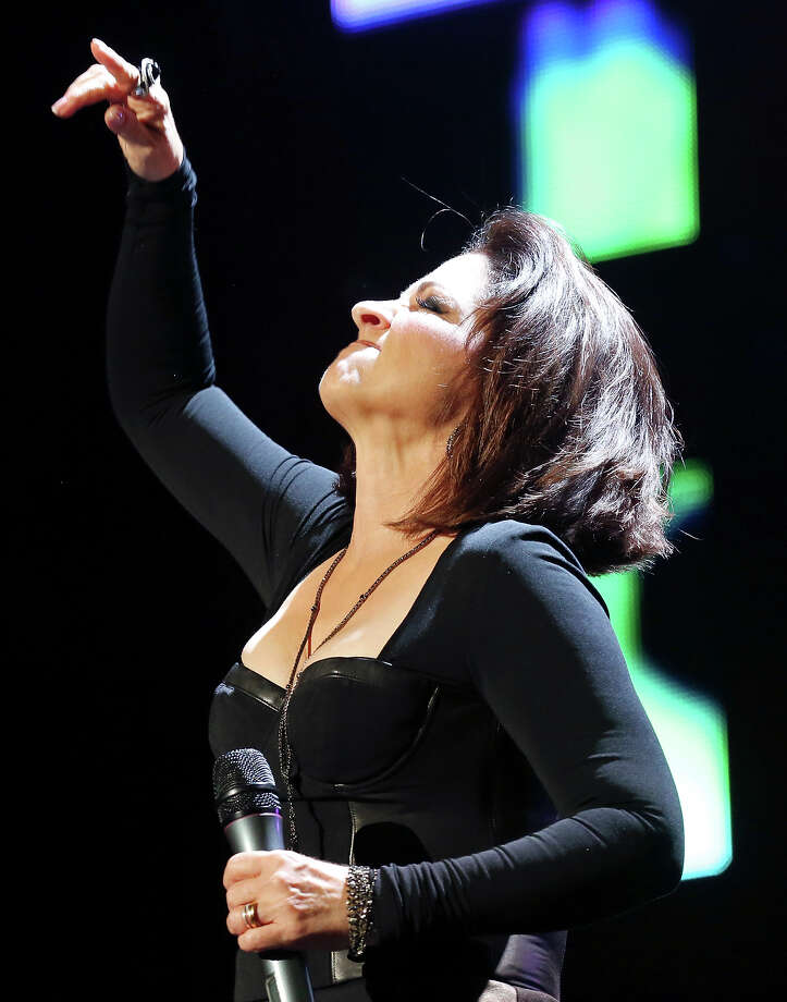 Gloria Estefan performs Saturday Aug. 31, 2013 during Festival People en Espanol at the Illusions Theater in the Alamodome. Photo: Edward A. Ornelas, San Antonio Express-News / © 2012 San Antonio Express-News
