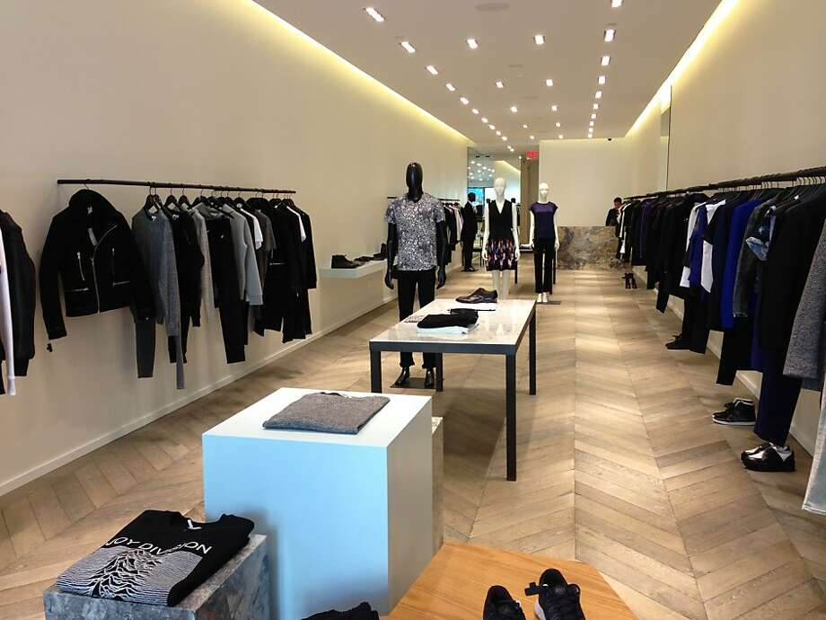 Paris-chic contemporary brand Sandro has a new store on Fillmore Street, its second in the West. Photo: Maghan McDowell
