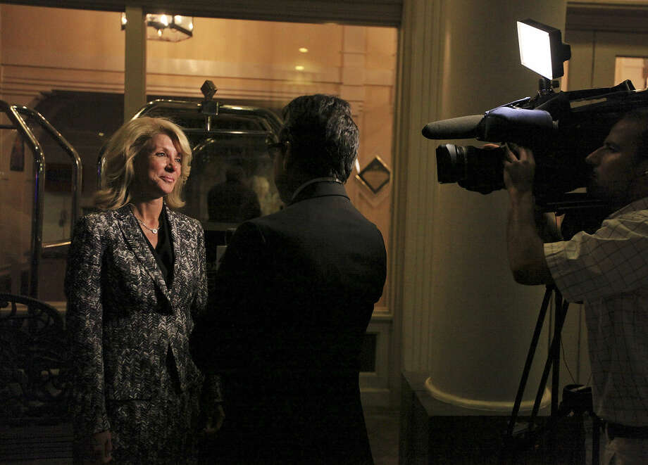 State Sen. Wendy Davis, D-Fort Worth, says she's in the final stages of deciding whether she'll run for governor. Her decision has been pushed back by her father's illness.