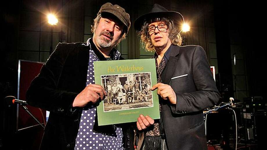 Mike Scott and Steve Wickham of The Waterboys Photo: Chrysalis