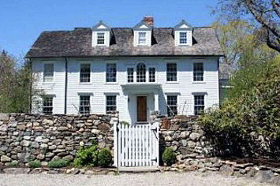The house at 95 Clapboard Hill Road was recently sold for $3,375,000. Photo: Contributed Photo / Westport News contributed