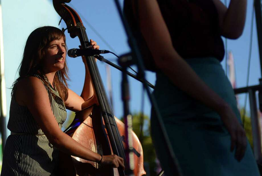 Lake Street Dive performs at the Plaza Stage on the first day of the annual Bumbershoot music and arts festival Saturday, Aug. 31, 2013, at the Seattle Center. Photo: SY BEAN, SEATTLEPI.COM / SEATTLEPI.COM