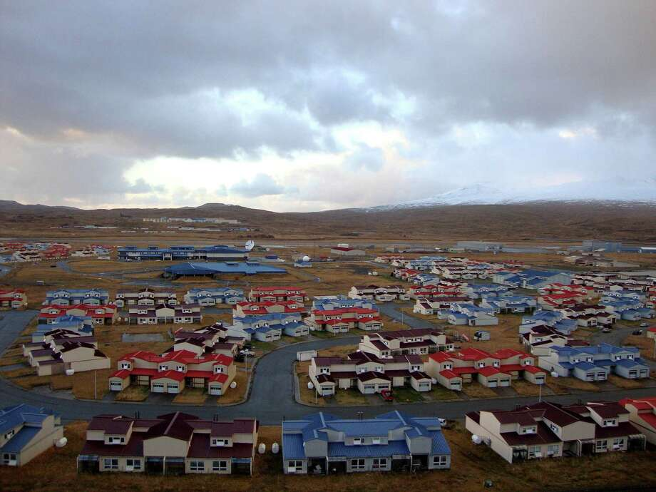 This 2010 photo released by the State of Alaska Division of Community & Regional Affairs shows neighborhood housing in Adak, Alaska. Officials say a magnitude 7.0 earthquake has rocked Alaska's Aleutian Islands, Friday, Aug. 30, 2013,  with a jet-like rumble that shook homes and sent residents scrambling for cover. There are no immediate reports of damage or injuries from the major temblor at 8:25 a.m. Friday, local time. It was followed by multiple aftershocks, including one measuring magnitude 4.5. Photo: AP