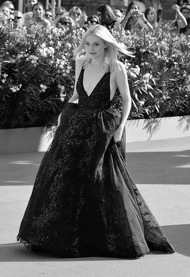 VENICE, ITALY - AUGUST 31:  (EDITORS NOTE: Image has been converted to black and white.) Actress Dakota Fanning attends 'Night Moves' Premiere during the 70th Venice International Film Festival at the Palazzo del Cinema on August 31, 2013 in Venice, Italy.  (Photo by Stefania D'Alessandro/WireImage) Photo: Stefania D'Alessandro, Getty Images / 2013 Stefania D'Alessandro