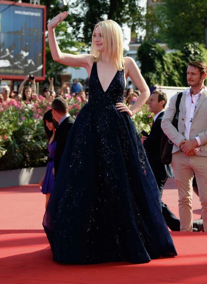 "VENICE, ITALY - AUGUST 31:  Actress Dakota Fanning attends ""Night Moves"" Premiere during the 70th Venice International Film Festival at Sala Grande on August 31, 2013 in Venice, Italy.  (Photo by Venturelli/WireImage) Photo: Venturelli, Getty Images / 2013 Venturelli"