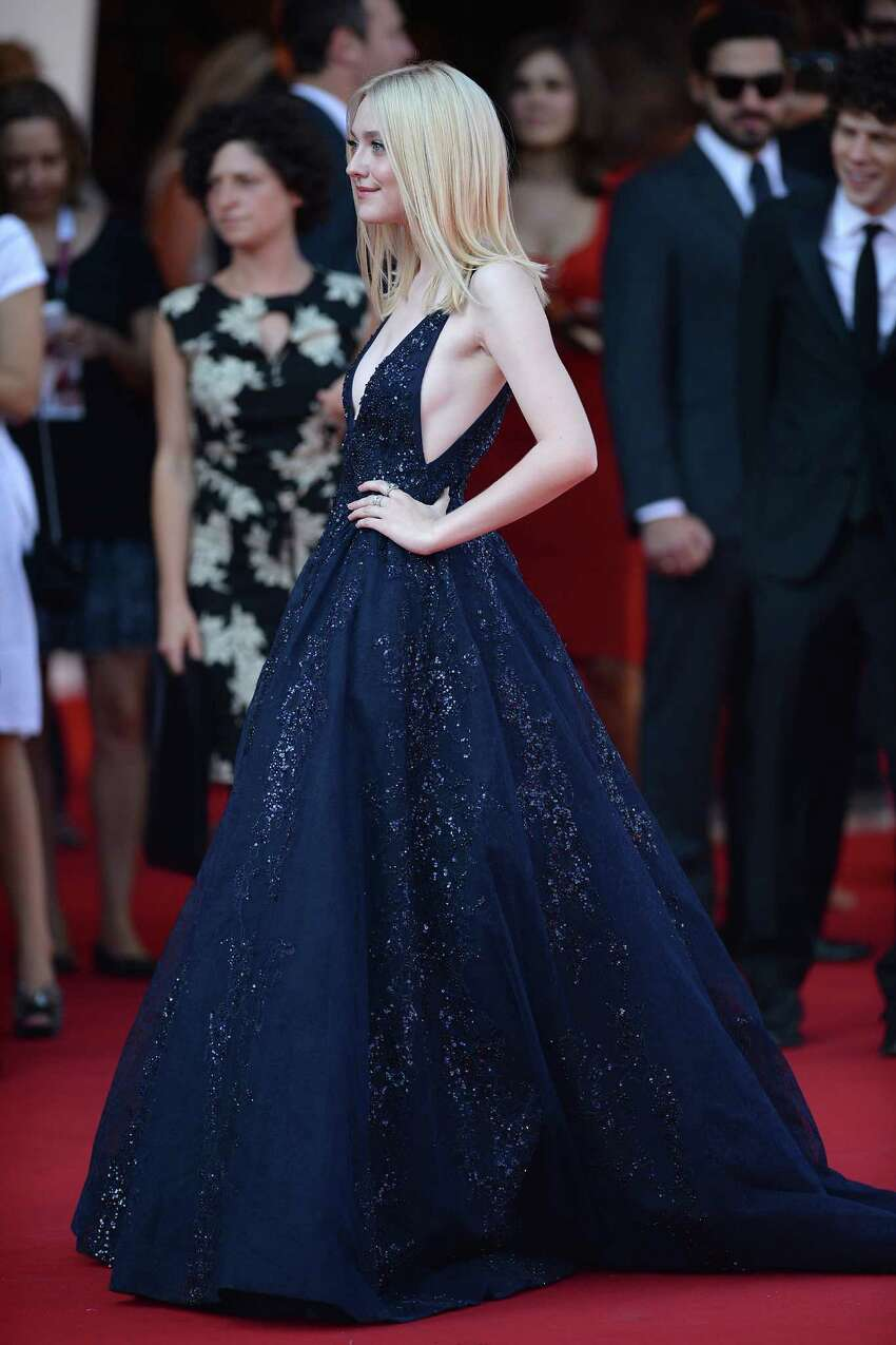 VENICE, ITALY - AUGUST 31: Actress Dakota Fanning attends 'Night Moves' Premiere during the 70th Venice International Film Festival at Palazzo del Cinema on August 31, 2013 in Venice, Italy. (Photo by Jacopo Raule/FilmMagic)