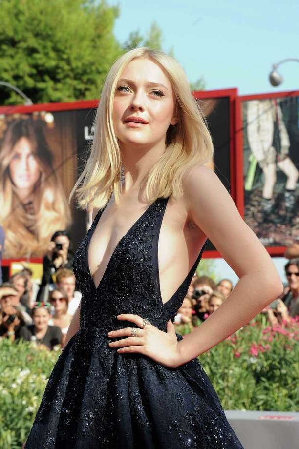 "Actress Dakota Fanning attends ""Night Moves"" Premiere during the 70th Venice International Film Festival at Sala Grande on August 31, 2013 in Venice, Italy.  (Photo by Stefania D'Alessandro/WireImage) Photo: Stefania D'Alessandro, Getty Images / 2013 Stefania D'Alessandro"