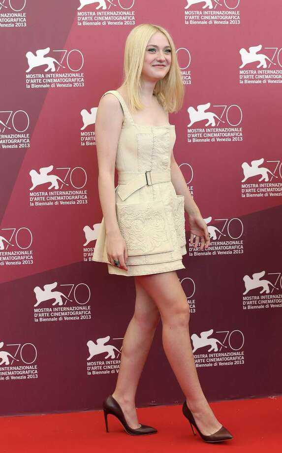 VENICE, ITALY - AUGUST 31:  Actress Dakota Fanning attends the 'Night Moves' Photocall during the 70th Venice International Film Festival at the Palazzo del Casino on August 31, 2013 in Venice, Italy.  (Photo by Elisabetta A. Villa/WireImage) Photo: Elisabetta A. Villa, Getty Images / 2013 Elisabetta A. Villa