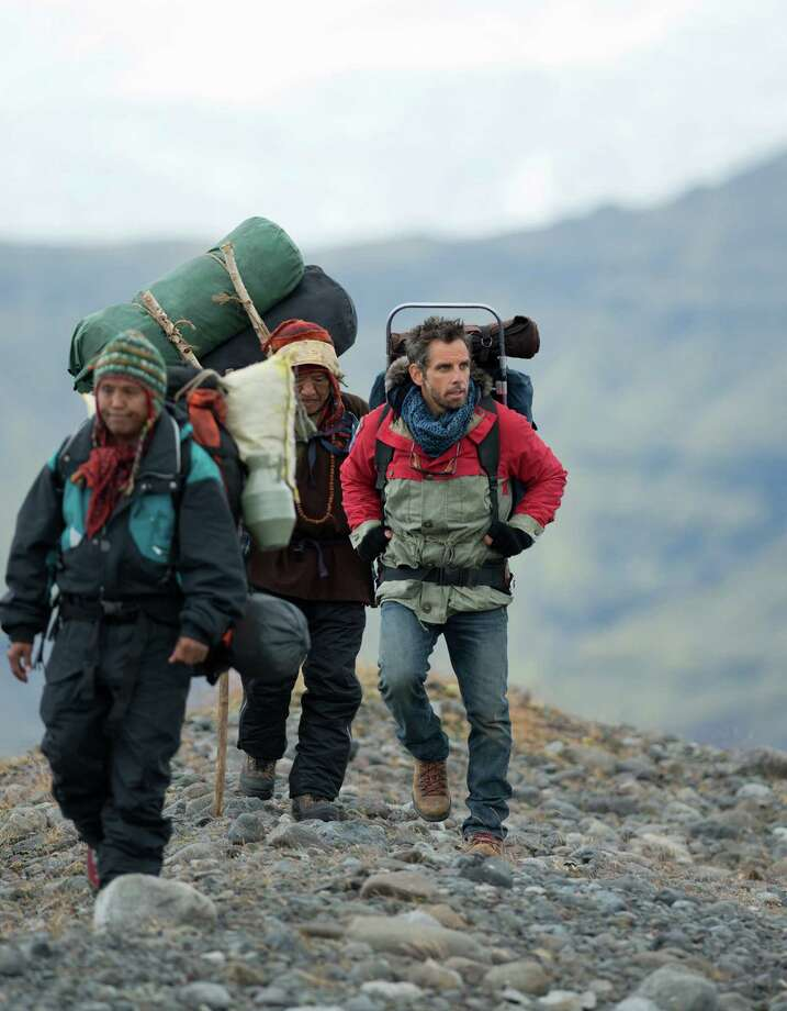 "This film image released by 20th Century Fox shows Ben Stiller, right, in ""The Secret Life of Walter Mitty."" Photo: AP"
