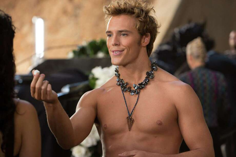 "This film image released by Lionsgate shows Sam Claflin in a scene from ""The Hunger Games: Catching Fire."" Photo: AP"