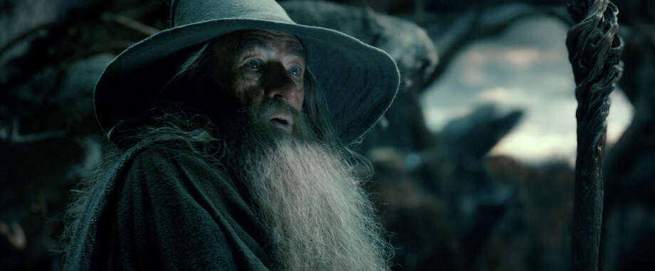 """This film image released by Warner Bros. Pictures shows Ian McKellan as Gandalf in a scene from """"The Hobbit: The Desolation of Smaug."""" Photo: AP"""