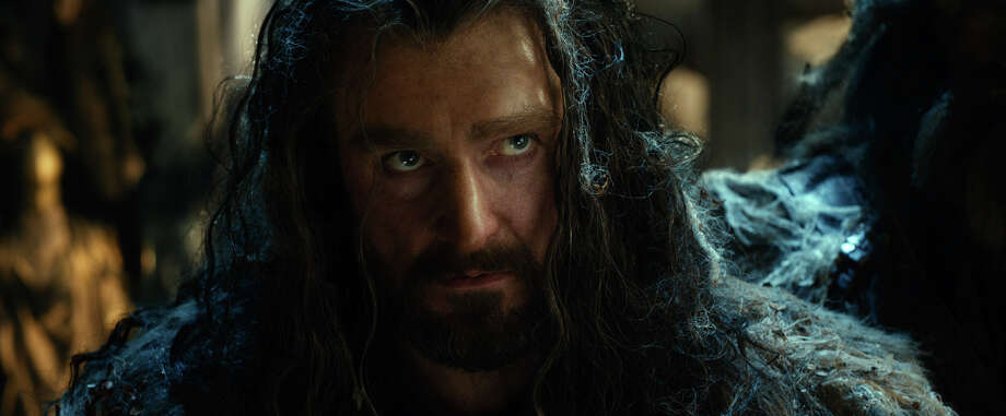 "This film image released by Warner Bros. Pictures shows Richard Armitage as Thorin Oakenshield in a scene from ""The Hobbit: The Desolation of Smaug."" Photo: AP"