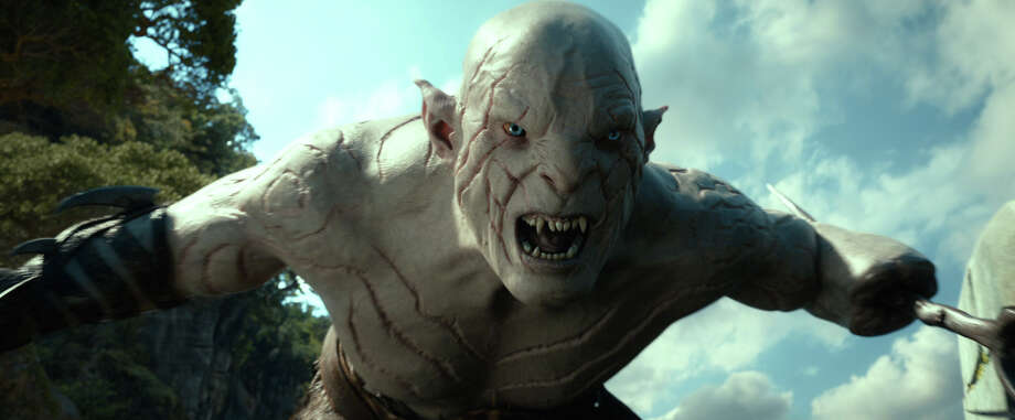 "This film image released by Warner Bros. Pictures shows a scene from ""The Hobbit: The Desolation of Smaug."" Photo: AP"