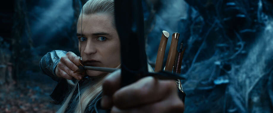 "This film image released by Warner Bros. Pictures shows Orlando Bloom in a scene from ""The Hobbit: The Desolation of Smaug."" Photo: AP"
