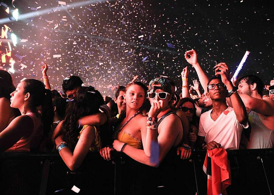 The third and final day of the Electric Zoo music festival at Randall's Island Park in New York City was canceled over concerns of deaths and illnesses possibly related to the use of the drug ecstasy by concertgoers. Photo: Daniel Zuchnik, Getty Images