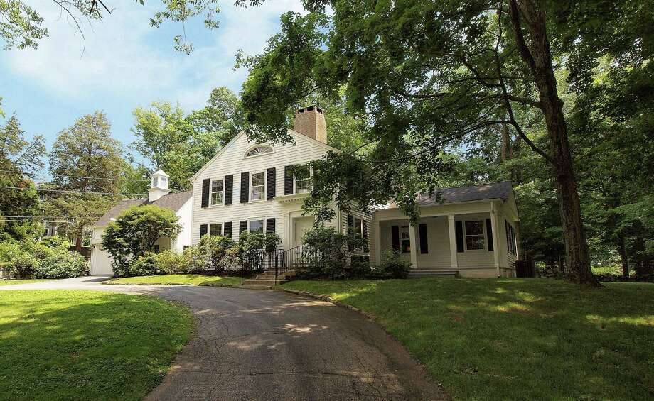 The Antique Colonial house at 50 Cross Highway is on the market for $1.025 million. Photo: Contributed Photo / Westport News contributed