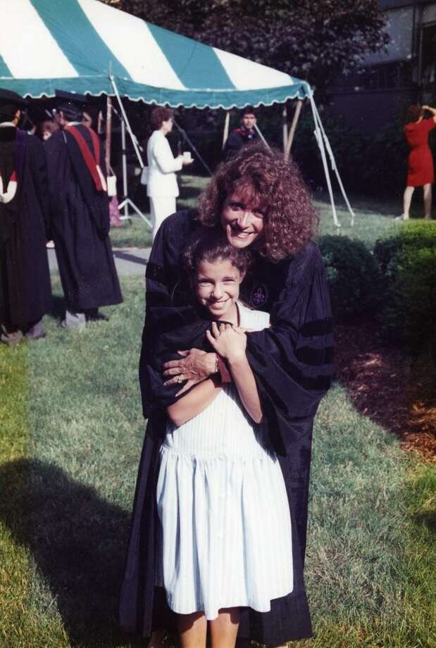 Wendy Davis at her graduation from Harvard in 1993. Her daughter Amber was 11.  Wendy was 30. Photo: Photos Courtesy Of Wendy Davis / photos courtesy of Wendy Davis