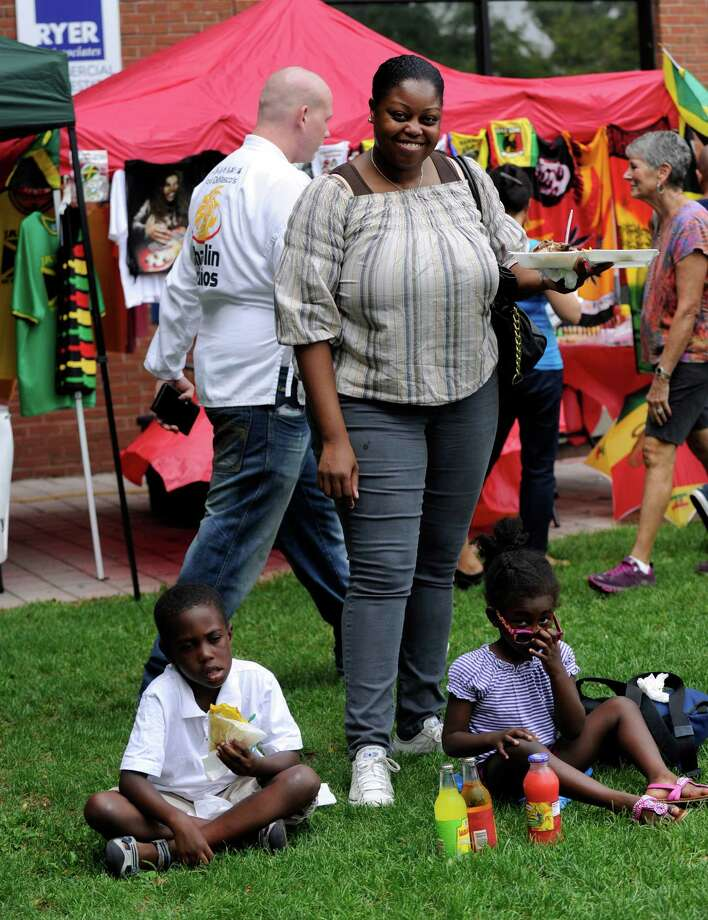 The Caribbean Jerk Festival is held on the CityCenter Green in Danbury, Conn., Sunday, Sept. 1, 2013. Photo: Carol Kaliff / The News-Times