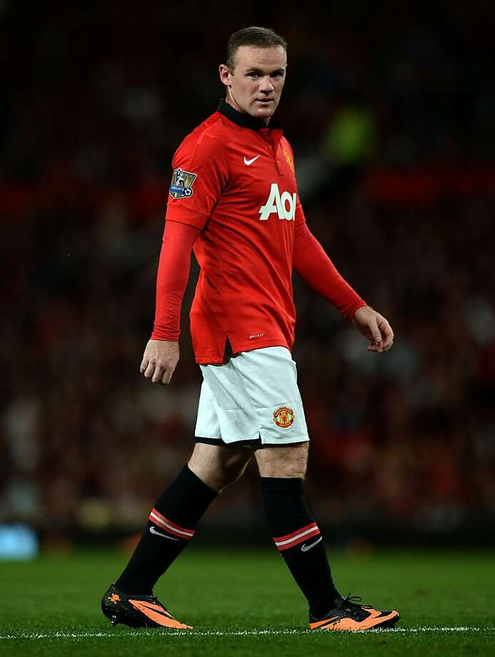 Wayne Rooney Photo: Andrew Yates, AFP/Getty Images