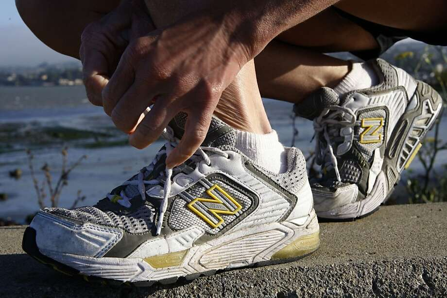 """New Balance shoes, which operates factories in Maine, is among the companies profiled in the new documentary """"American Made Movie."""" Photo: Liz Hafalia, The Chronicle"""