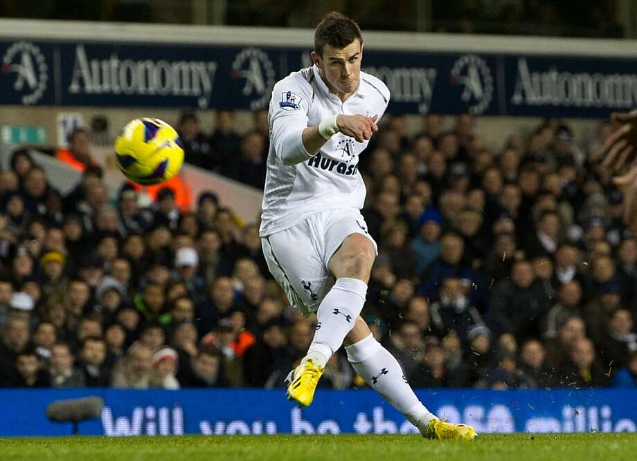 Gareth Bale was the Premier League's Player of the Year in 2012 for Tottenham Hotspur. Real Madrid is believed to have paid a record $130 million to add the midfielder to its roster. Photo: Tom Hevezi, Associated Press