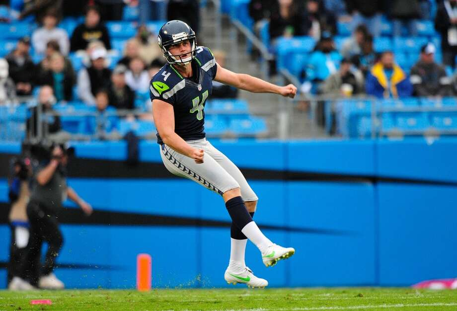 #4 | Steven Hauschka, place kickerAge: 28 | 6-foot-4, 210 pounds | College: N.C. State (undrafted) Sixth year in NFL | Third year with SeahawksDependable and consistent, Hauschka will continue to be the Seahawks' guy for kickoffs and field goals. Last year, he hit 24 of his 27 field-goal attempts, missing three from beyond 50 yards, and missed just two extra points over 16 games. Photo: Grant Halverson, Getty Images
