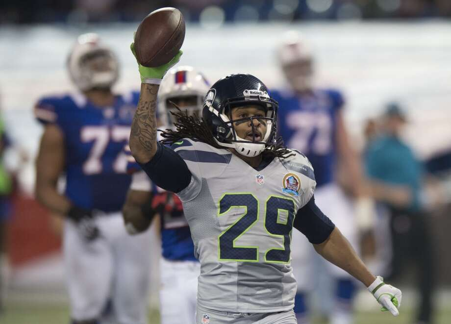 #29 | Earl Thomas, free safetyAge: 24 | 5-foot-10, 204 pounds | College: Texas Fourth year in NFL | Fourth year with SeahawksOne of the best safties in the NFL, Thomas returns to the CLink triumphant after an All-Pro season last year. One piece of Seattle's ''Legion of Boom'' secondary, Thomas will continue to bring the hurt in 2013. Photo: Lucas Oleniuk, Toronto Star Via Getty Images