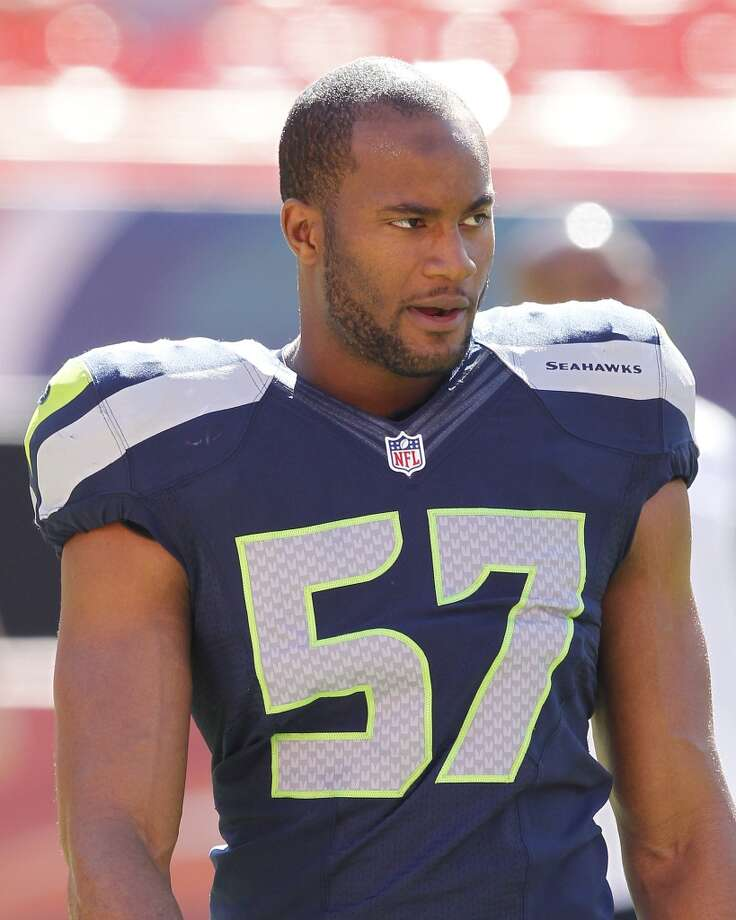 #57 | Mike Morgan, linebacker  Age: 25 | 6-foot-3, 226 | College: USC (undrafted) Third year in NFL | Third year with Seahawks  A Pete Carroll project out of USC, Morgan returned to the Seahawks last year after being cut his rookie season in 2011. In 2012, a year wiser, Morgan appeared in all 18 of Seattle's regular-season and playoff games, starting once and playing mainly on special teams. Photo: Joel Auerbach, Getty Images