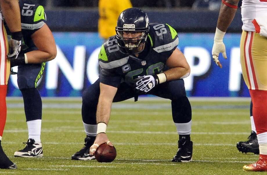 #60 | Max Unger, center  Age: 27 | 6-foot-5, 305 pounds | College: Oregon Fifth year in NFL | Fifth year with Seahawks  One of the NFL's best centers, Unger certainly earned his All-Pro and Pro Bowl honors last season. Intimately involved in just about every offensive snap at center, Unger is the rock of Seattle's O-line -- on an offense that swept through the league in the second half of 2012. Expect more spectacular play from Unger in 2013. Photo: Steve Dykes, Getty Images
