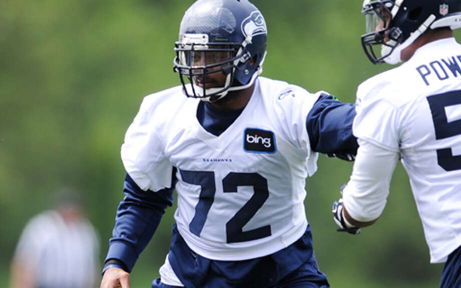 #72 | Michael Bennett, defensive endAge: 27 | 6-foot-4, 274 pounds | College: Texas A&M (undrafted) Fifth year in NFL | First year with SeahawksOne of Seattle's big pickups in the offseason, Bennett joins the Seahawks after four years with Tampa Bay. Last year for the Buccaneers, he had nine sacks as the team's leading pass-rusher, and could be part of a suffocating Seahawks defense this year alongside fellow rush-specialists Chris Clemons, Cliff Avril and Bruce Irvin. Bennett has battled a knee injury this preseason, but is expected to see plenty of playing time in 2013. Photo: Rod Mar, Seahawks.com / © ROD MAR