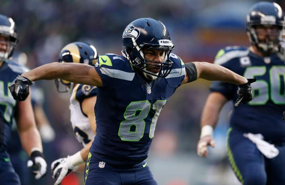 #81   Golden Tate, wide receiverAge: 25   5-foot-10, 202 pounds   College: Notre Dame Fourth year in NFL   Fourth year with SeahawksA second-round draft pick in 2010, Tate didn't quite  play up to expectations his first two seasons -- so fans were hoping for a breakout season in 2012. They got it. Tate was the Seahawks' second-leading receiver and made numerous memorable plays, including the infamous ''Fail Mary'' touchdown catch against the Packers on ''Monday Night Football.'' Now with Leon Washington gone and Percy Harvin out after hip surgery, Tate will also split time with Walter Thurmond returning punts in 2013. Photo: Otto Greule Jr, Getty Images