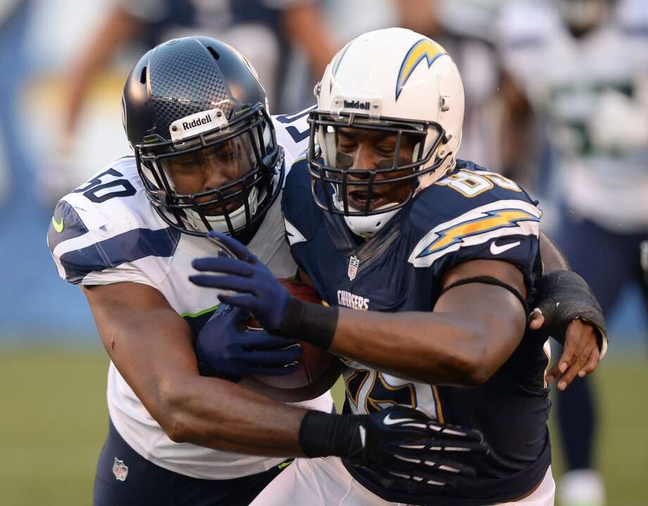 #93 | O'Brien Schofield, linebacker  Age: 26 | 6-foot-3, 242 pounds | College: Wisconsin Fourth year in NFL | First year with Seahawks  When Schofield became available in August when he was cut by the Cardinals, the Seahawks were quick to snatch him up. He's versatile, able to play as both a linebacker and a defensive end -- or in more of the ''Leo'' hybrid role. As such, he might see a lot of snaps with his new team this year. Photo: Harry How, Getty Images