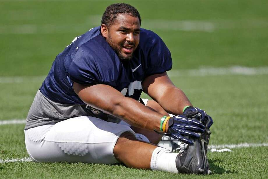 #97 | Jordan Hill, defensive tackle  Age: 22 | 6-foot-1, 303 pounds | College: Penn State NFL rookie | First year with Seahawks  A third-round pick in April's NFL Draft, Hill has fallen in nicely with the Seahawks for the start of his rookie season. He played a lot with the first-team defense this preseason, and provides strong depth on the inside of the D-line. Hill reportedly suffered a torn bicep at practice last week and could miss some playing time at the beginning of the season, but the injury isn't expected to be that bad. Photo: Seahawks.com