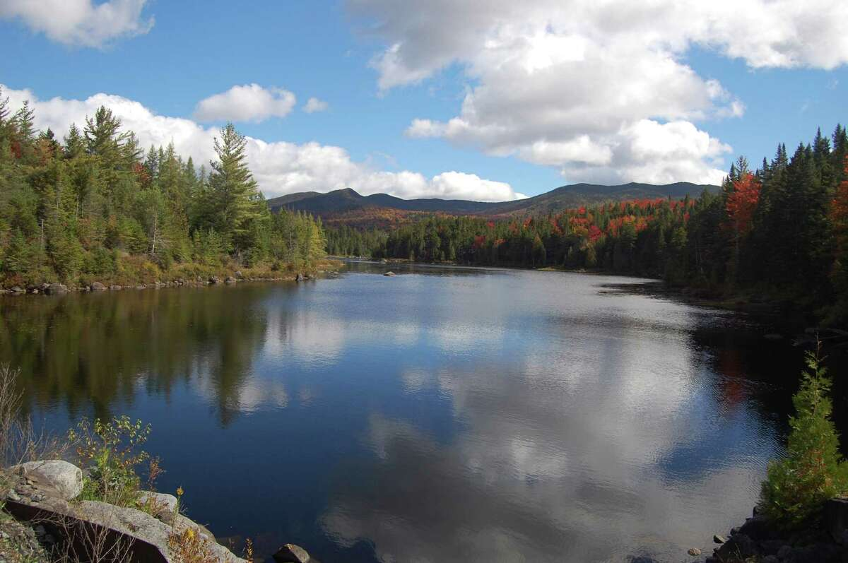 The Labierre Flow in the Boreas Tracts of the Adirondack mountains, which is part of the former Finch-Pruyn timberlands, Sept. 23, 20122, in North Hudson, N.Y. (Jimmy Vielkind/Times Union)
