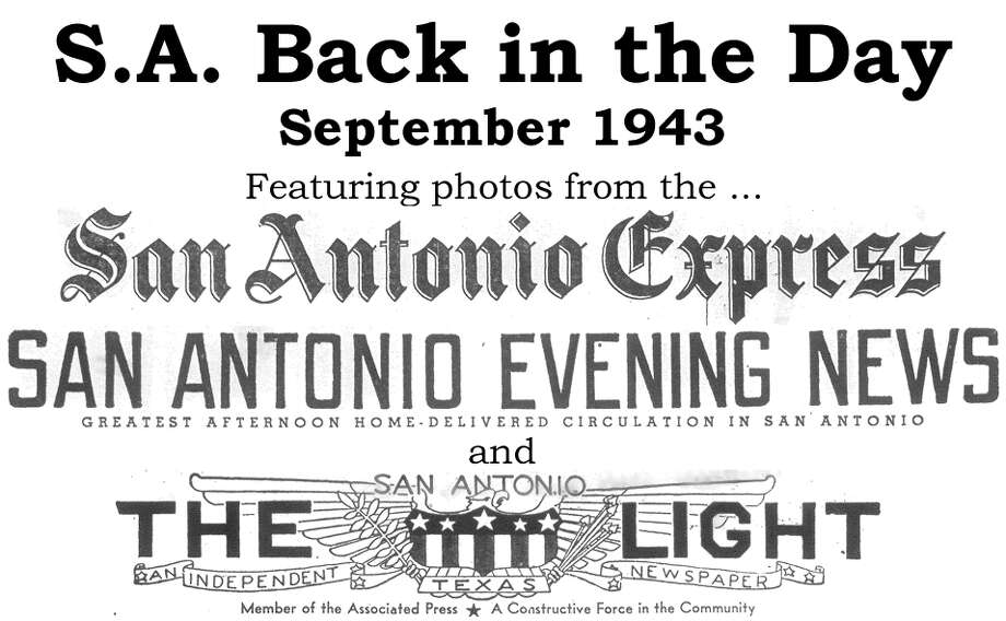 We've combed through the San Antonio Express, San Antonio Evening News and San Antonio Light archives to bring you the best photos from the Alamo City 70 years ago, for the most part using the original photo captions, with exceptions to provide more information. Enjoy! Compiled by Merrisa Brown, mySA.com. Photo: San Antonio Express-News Photo Illustration