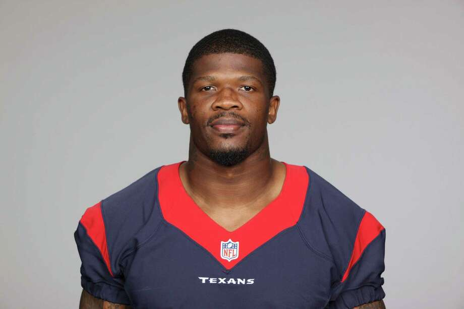 This is a 2013 photo of Andre Johnson of the Houston Texans NFL football team. This image reflects the Houston Texans active roster as of Thursday, June 20, 2013 when this image was taken. (AP Photo) Photo: Uncredited, FRE / AP2013