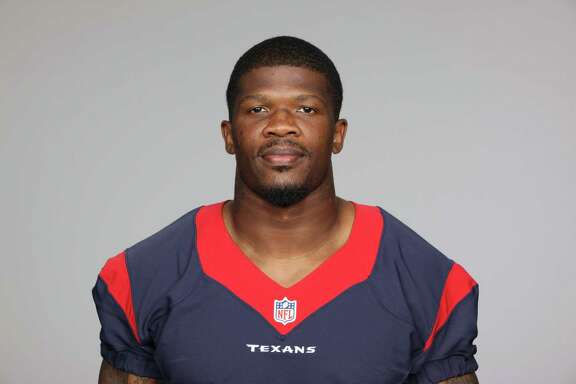 This is a 2013 photo of Andre Johnson of the Houston Texans NFL football team. This image reflects the Houston Texans active roster as of Thursday, June 20, 2013 when this image was taken. (AP Photo)