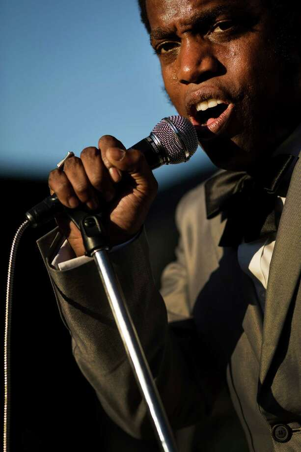Vintage Trouble performs on the second day of the annual Bumbershoot arts and music festival Sunday, September 1, 2013, at Seattle Center in Seattle. The festival continues Monday. Photo: JORDAN STEAD, SEATTLEPI.COM / SEATTLEPI.COM