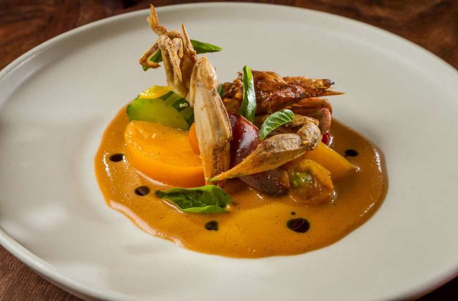 The Maryland Soft Shell Crab at Michael Mina in San Francisco. Photo: John Storey, Special To The Chronicle