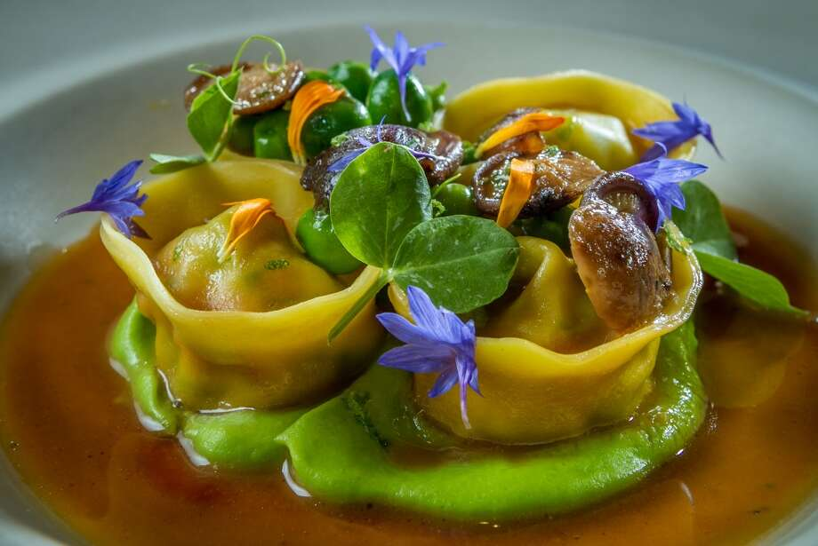 The King Crab Tortelloni at Michael Mina in San Francisco. Photo: John Storey, Special To The Chronicle