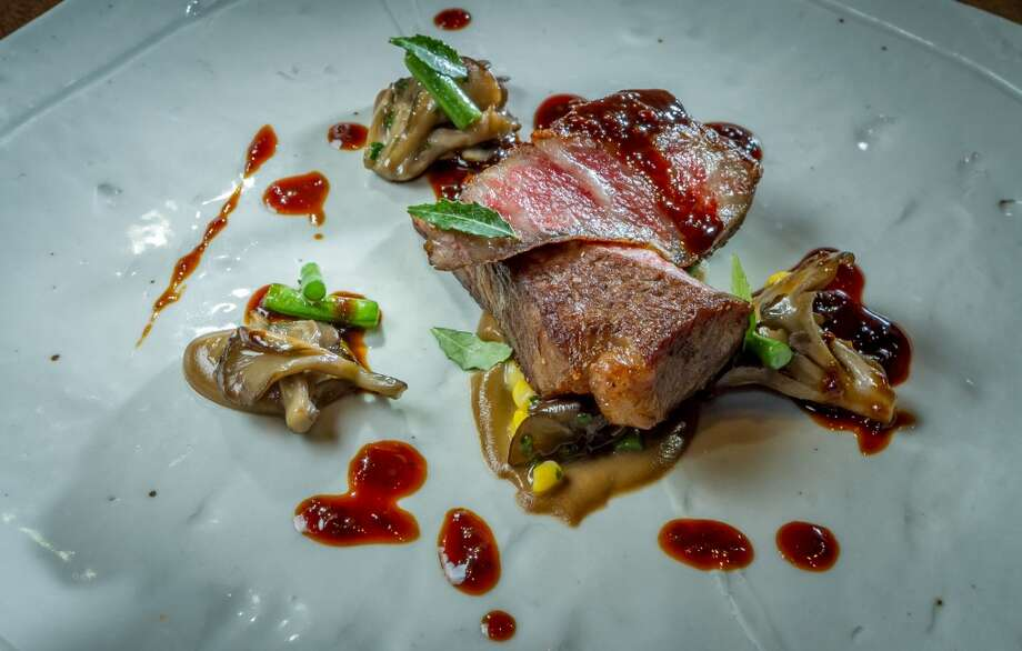 The Japanese A5 Wagyu on the tasting menu at Michael Mina in San Francisco. Photo: John Storey, Special To The Chronicle