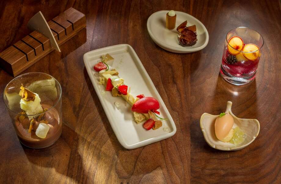 The Dessert Service at Michael Mina in San Francisco. Photo: John Storey, Special To The Chronicle
