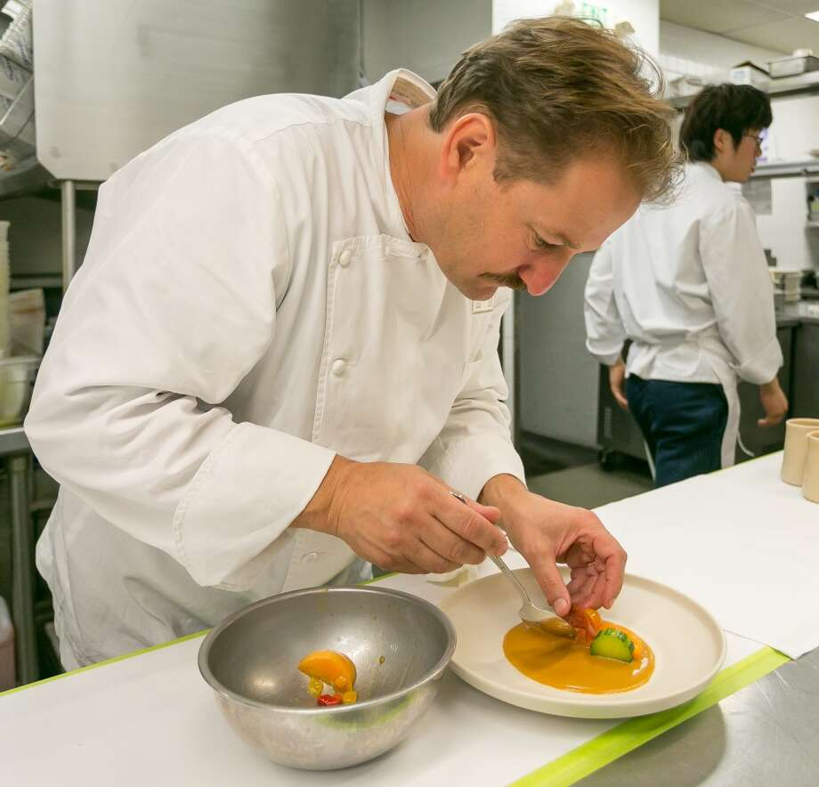 Chef Ron Siegel at Michael Mina in San Francisco. Photo: John Storey, Special To The Chronicle