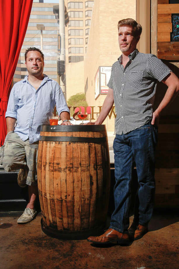 Steve Long, left, and Mike Raymond, owners of Reserve 101. Photo: Eric Kayne, For The Chronicle / ©Eric Kayne 2013