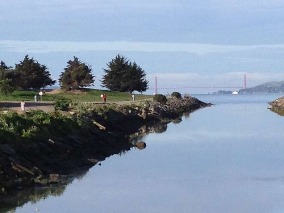 Great bay vistas appear from the very beginning of the Pt. Isabel trail. Photo: David Curran