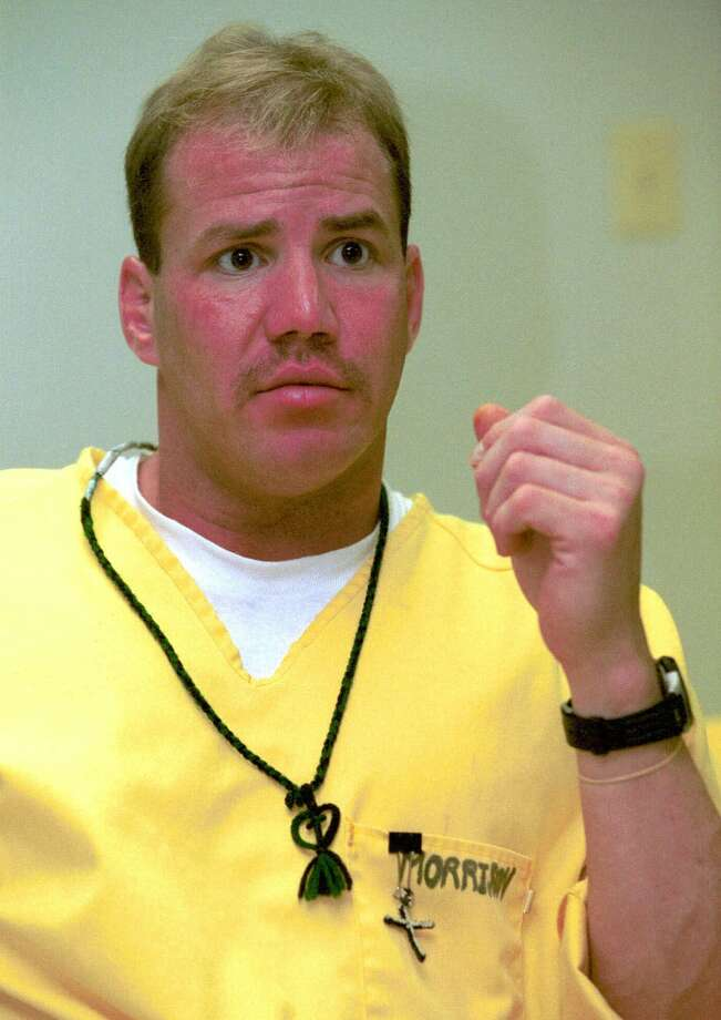 Former heavyweight boxing champion Tommy Morrison talks about his life during an April 3, 2000, interview at Southwest Arkansas Community Punishment Center in Texarkana, Ark. Morrison is serving time for drugs and weapons charges. (AP Photo/Chris Johnson). Photo: CHRIS JOHNSON, AP / AP