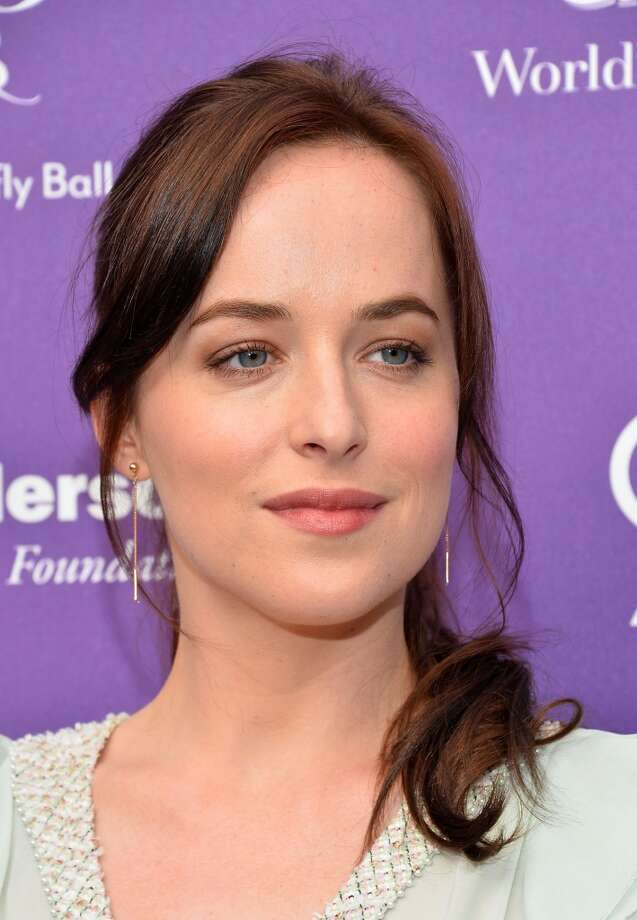Actress Dakota Johnson arrives at the 12th Annual Chrysalis Butterfly Ball on June 8, 2013 in Los Angeles, California.  (Photo by Amanda Edwards/WireImage) Photo: Amanda Edwards, WireImage